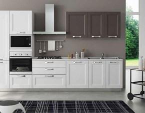 Cucina Divina 2 moderna bianca lineare Aerre cucine