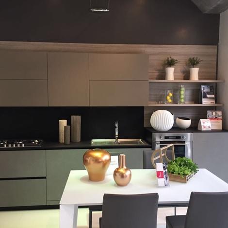 outlet Cucina DOIMO Fjord  laccata opaco in offerta a prezzo scontato