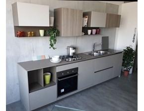 Cucina Doimo - Fjord moderna lineare in laminato materico