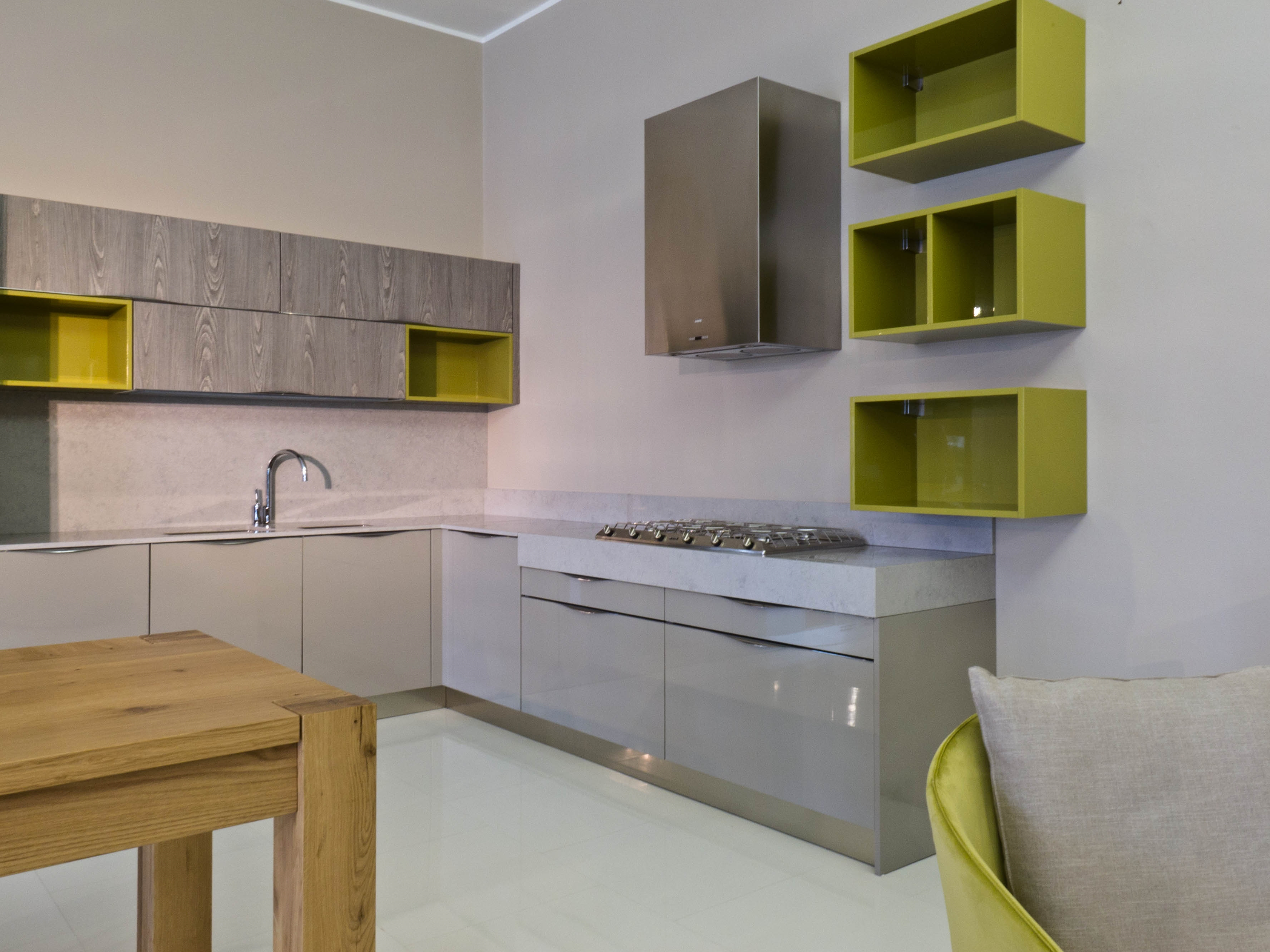 Affordable piastrelle per cucina bianca good moduli for Mattonelle finte per cucina