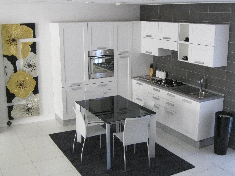 Cucina e tavolo artec cucine a prezzi scontati - Cucina tavolo estraibile ...