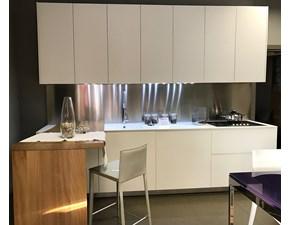 Cucina El_01 moderna bianca con penisola Elmar cucine