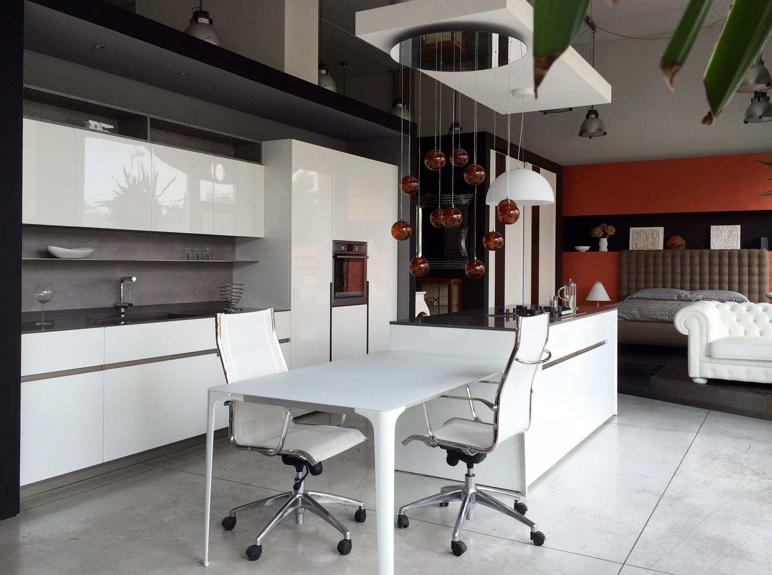 Stunning piani cucina cemento contemporary for Piani cucina laminato