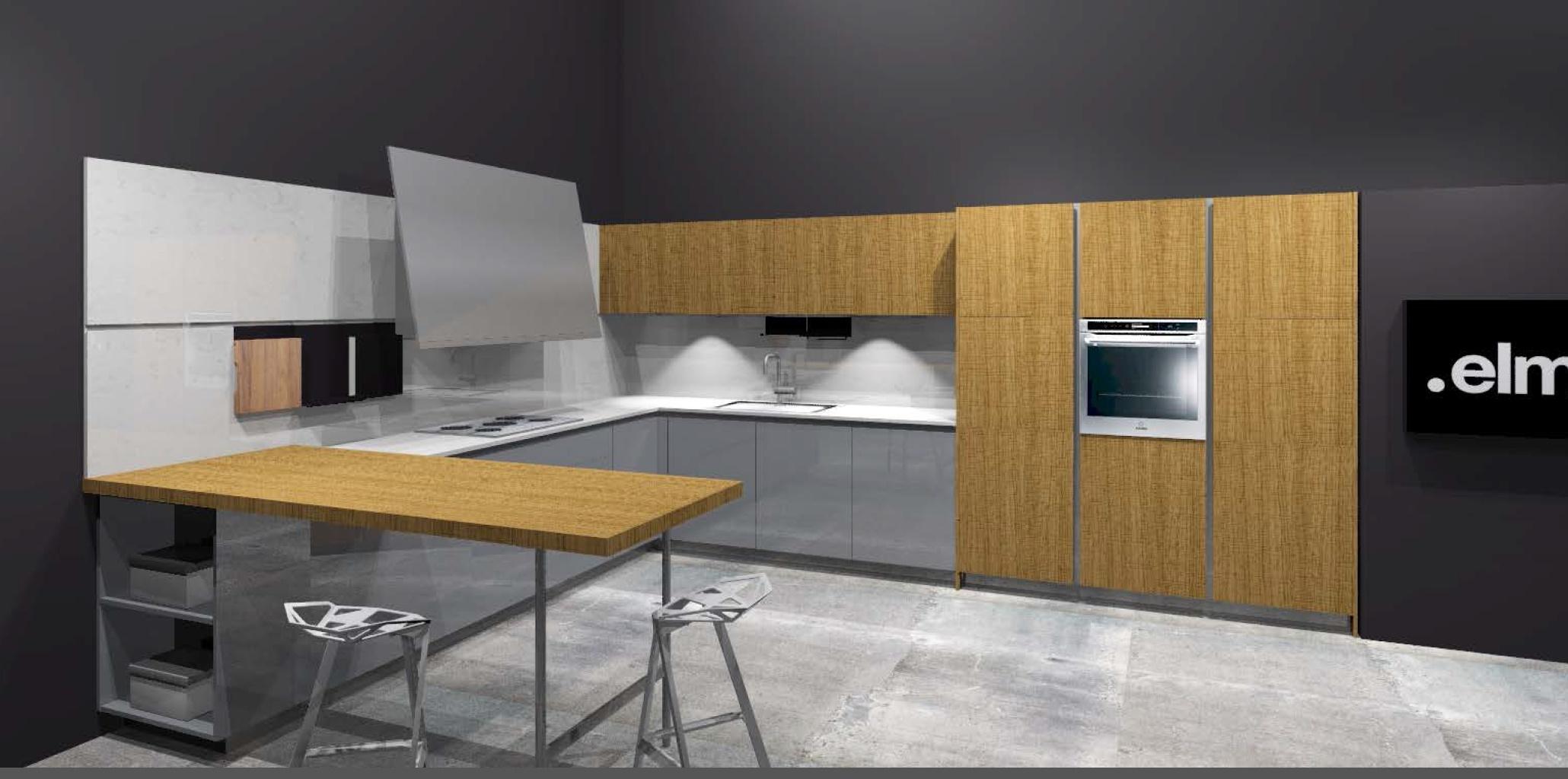 Cucina Rovere Chiaro Sistema 901 : Elmar cucine cucina slim design legno rovere chiaro