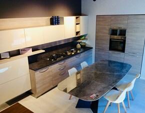Cucina Eolo moderna grigio ad angolo Artigianale
