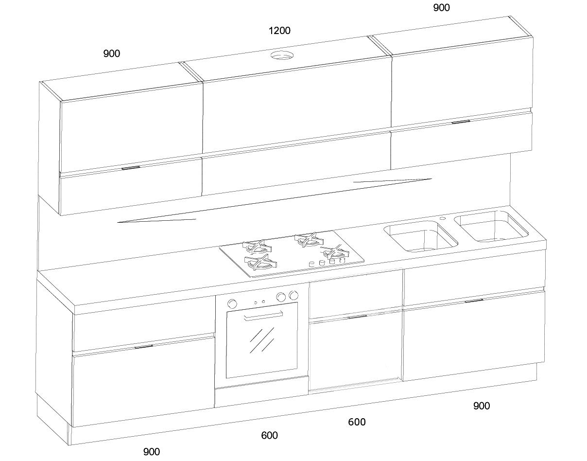 Disegno cucina idee per interni e mobili for Design degli interni di 1000 m
