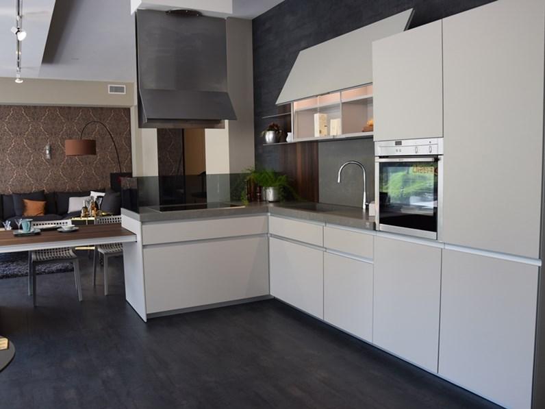 Cucina Ernestomeda Icon Design Laccate Opaco Grigio