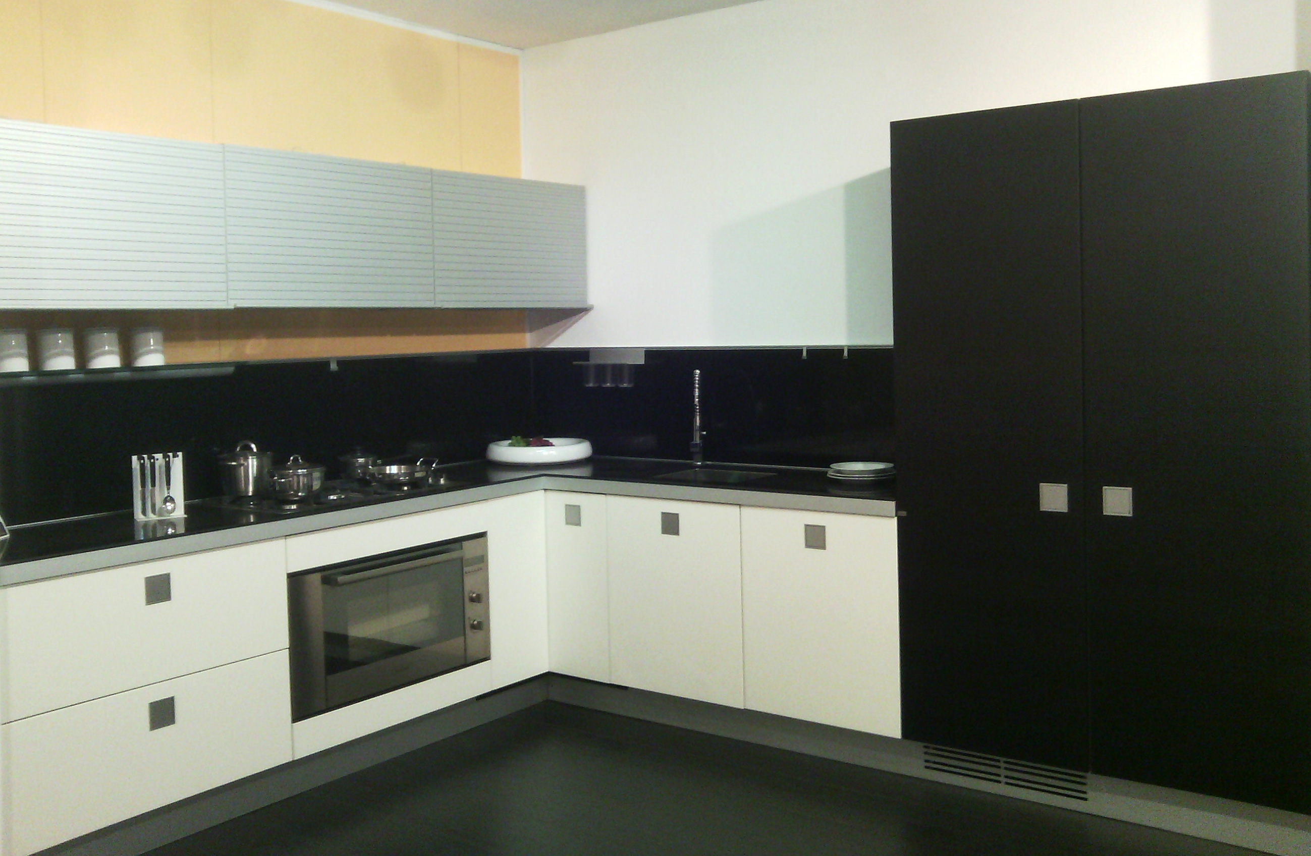 cucina ernestomeda modello silverbox offerta esposizione