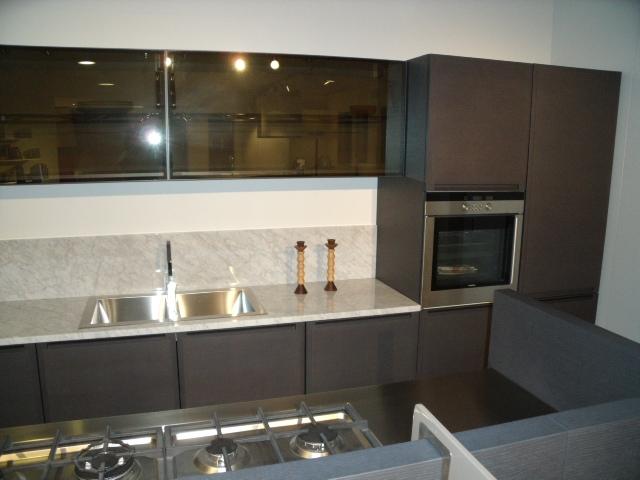Cucina ernestomeda fusion moderna legno rovere moro cucine a prezzi scontati - Prezzi cucine ernesto meda ...