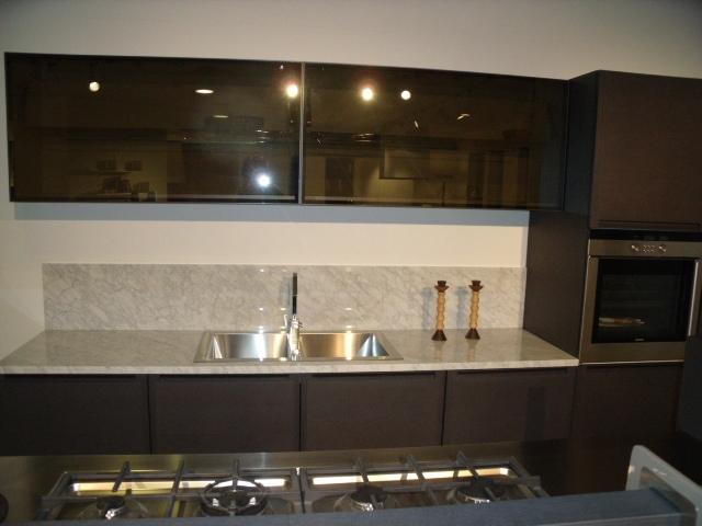Cucina ernestomeda fusion moderna legno rovere moro cucine a prezzi scontati - Cucina ernestomeda prezzi ...