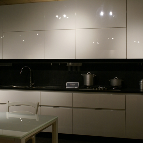 Cucina ernestomeda elektra design laccato lucido bianca cucine a prezzi scontati - Cucina ernestomeda prezzi ...