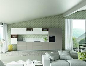 Cucina componibile mod.Azimut versione Laminato colore Avena