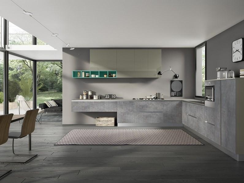 Cucina essebi cucine cuba con frontali in vetro scontato del 30 cucine a prezzi scontati - Cucine essebi prezzi ...