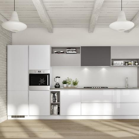 Essebi cucine cucina gloss laccata lucida scontato del 30 - Cucine essebi prezzi ...