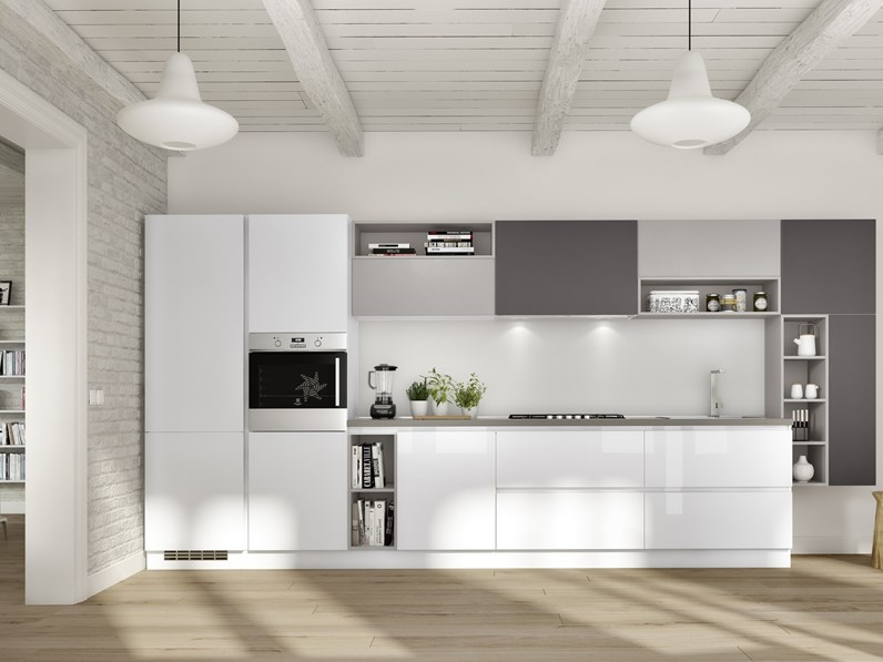 Cucina essebi cucine gloss offerta outlet for Cucine moderne offerta