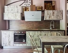 cucina lineare  moderna essenza vintage in offerta outelt nuovimondi