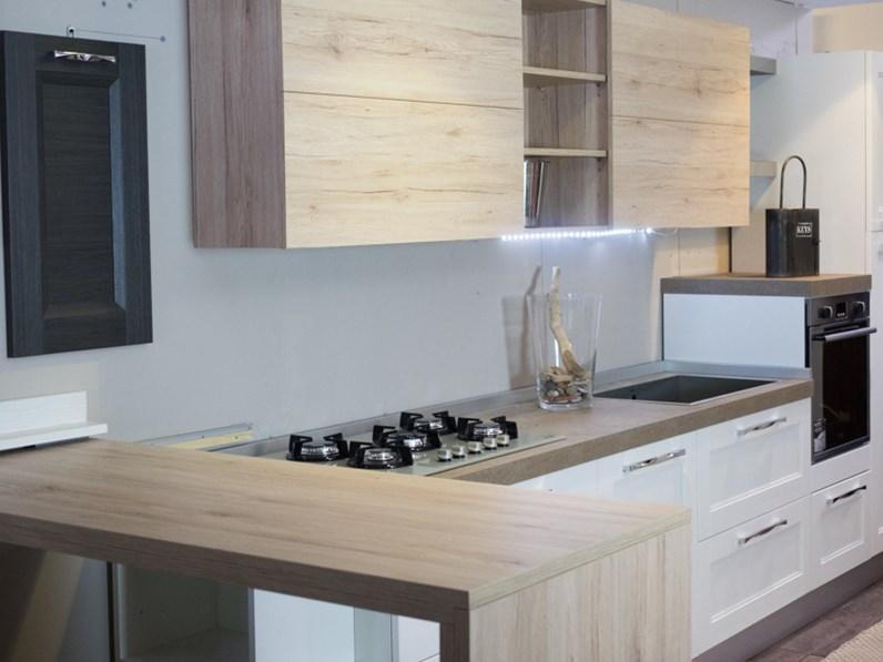 Cucina essenza vintage white in offerta nuovimondi outlet arredamento - Cucine etniche arredamento ...