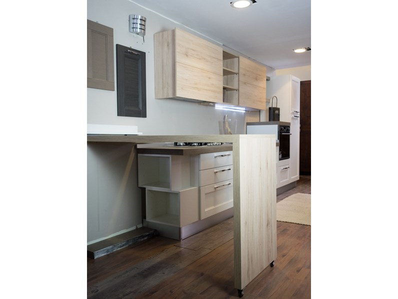 Cucina essenza vintage white in offerta nuovimondi outlet arredamento - Cucina a gas in offerta ...
