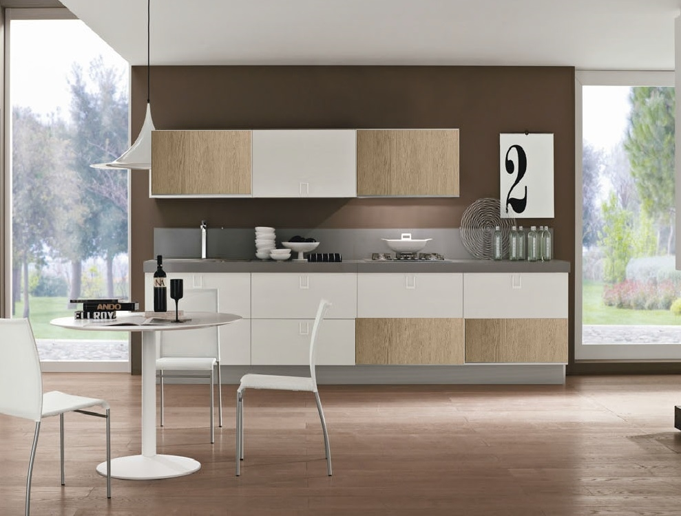 Awesome Cucina Rovere Sbiancato Pictures - Acomo.us - acomo.us
