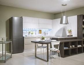 Cucina Ethica frame moderna altri colori con penisola Veneta cucine