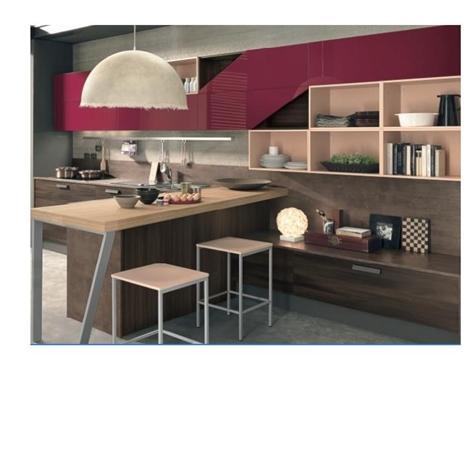 CUCINA ETNO LIVING BICOLORE 21703 - Cucine a prezzi scontati