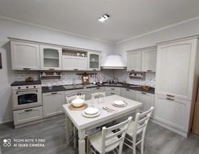 Cucina Evo cucine classica ad angolo tortora in legno Memory
