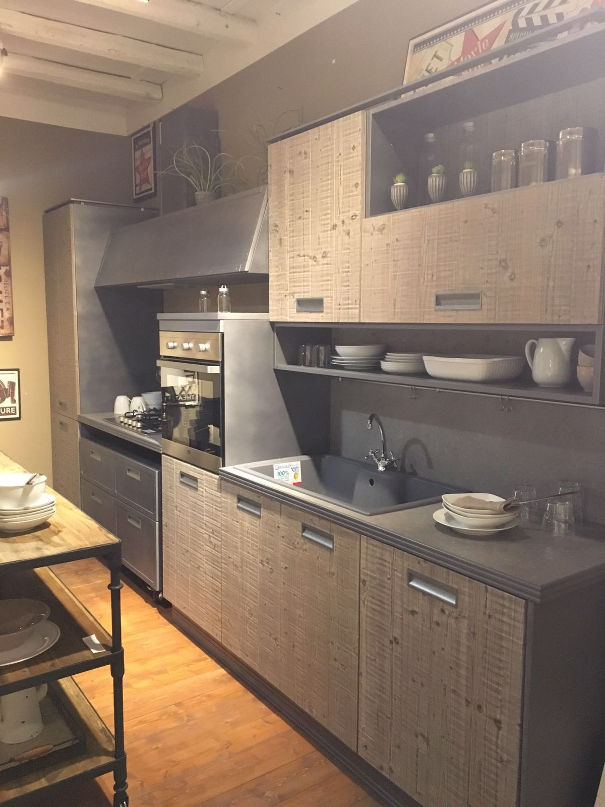 Cucina exedra marchi group scontata del 48 cucine a prezzi scontati - Marche cucine a gas ...