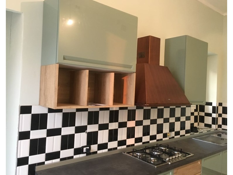 cucina expo chic lineare deco\' in offerta outlet nuovimondi