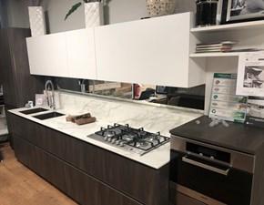 Cucina Expo moderna bianca lineare Artigianale