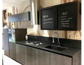 Cucina Factory country grigio lineare Arredo3
