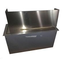 Cucina Falmec moderna lineare altri colori in acciaio Cappa