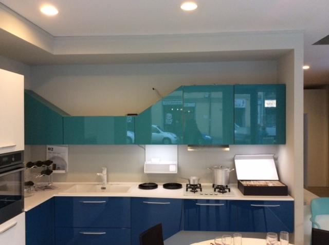 Cucina febal cucina moderna modello alicante laccato lucido design laccato lucido cucine a - Cucina moderna design ...