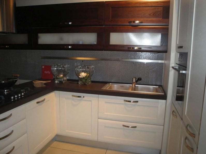 Cucina angolare febal scontata del 60 cucine a prezzi - Cucine moderne scure ...