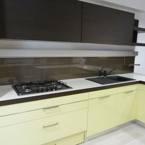 Beautiful Rovere Grigio Cucina Contemporary - Home Interior Ideas ...