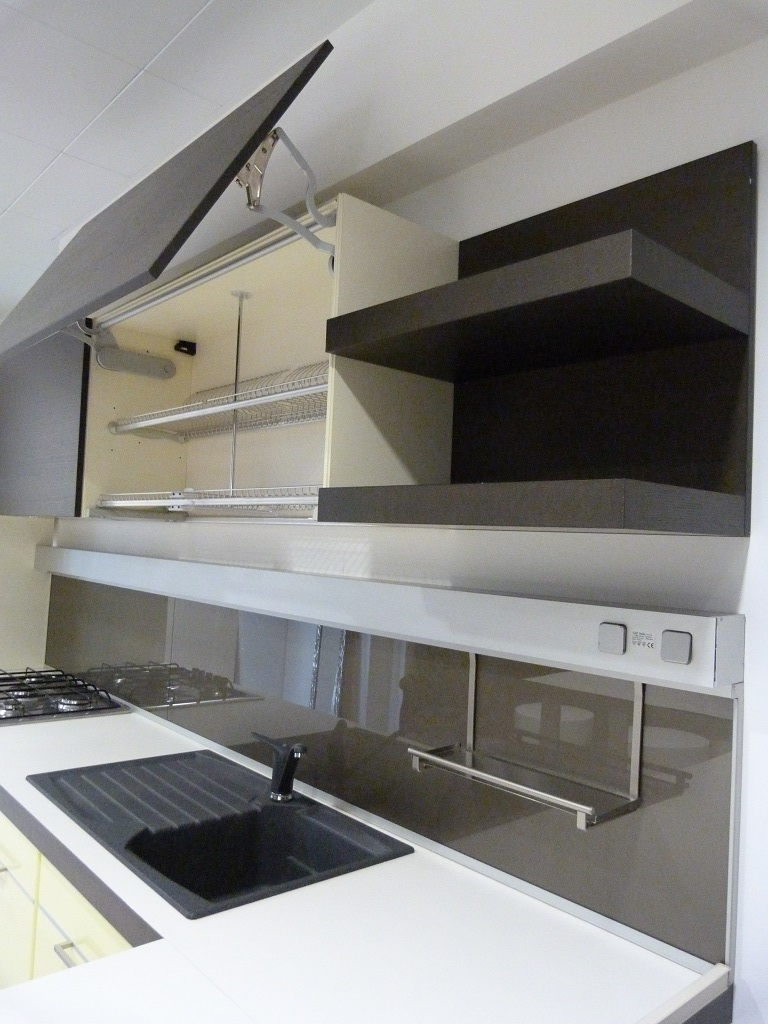 Awesome Cucina Moderna Rovere Grigio Pictures - ferrorods.us ...