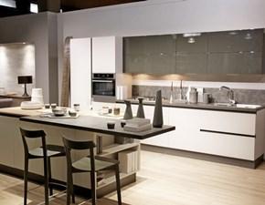 Cucina Febal moderna ad isola altri colori in nobilitato Lungomare