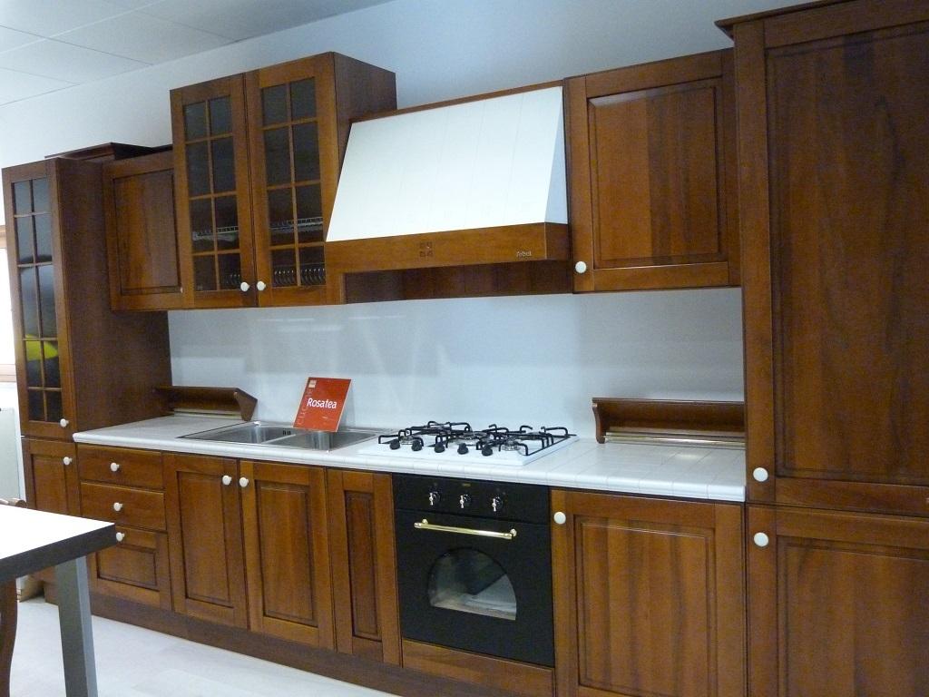 Cucina febal rosatea classica legno noce cucine a prezzi - Cucine febal classiche ...