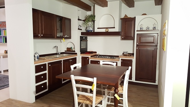 Cucina finta muratura artigianale tipo zappalorto sconto - Cucina in finta muratura ...