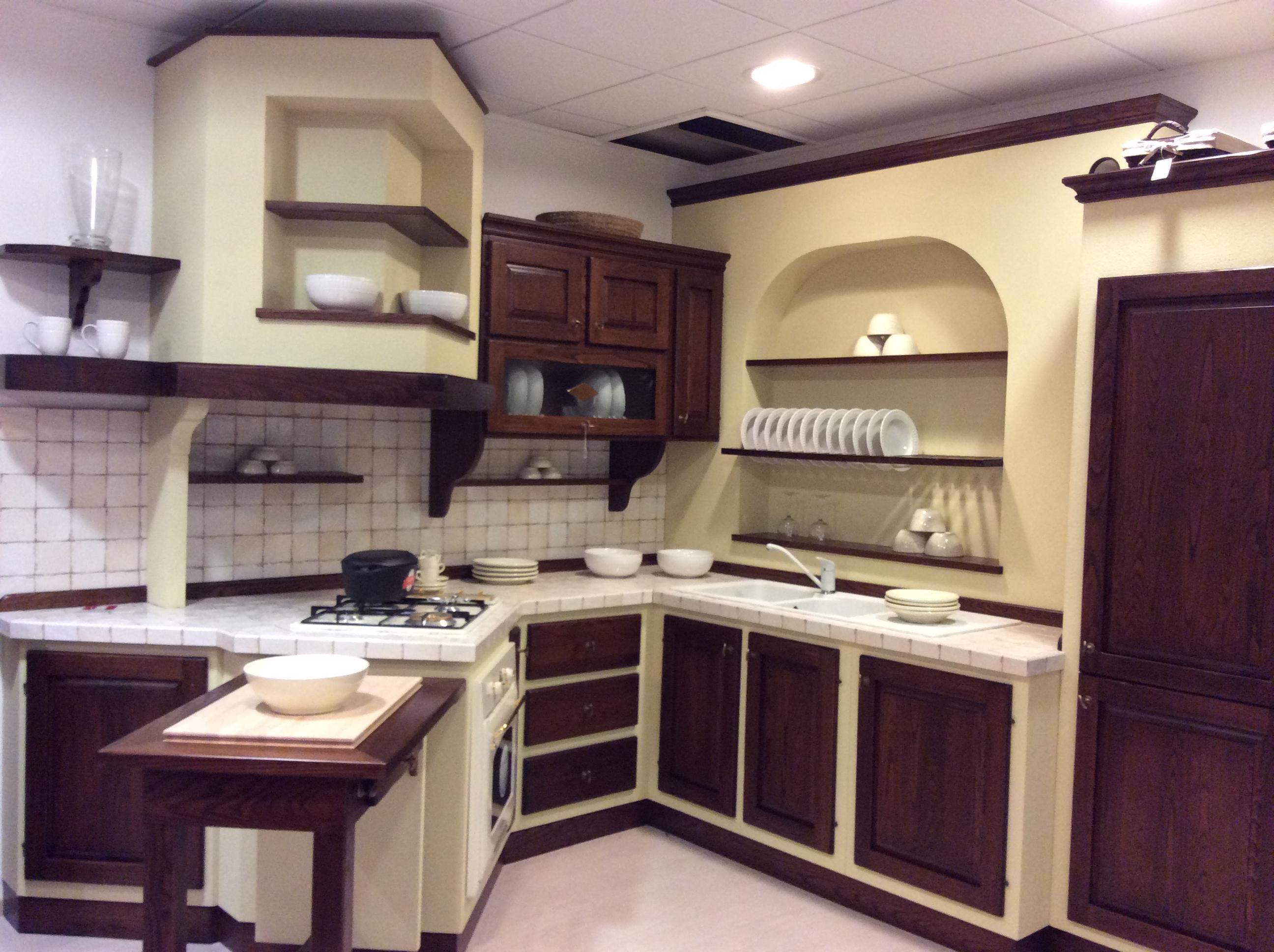 Cucina finta muratura cucine a prezzi scontati - Cucina in muratura prezzo ...