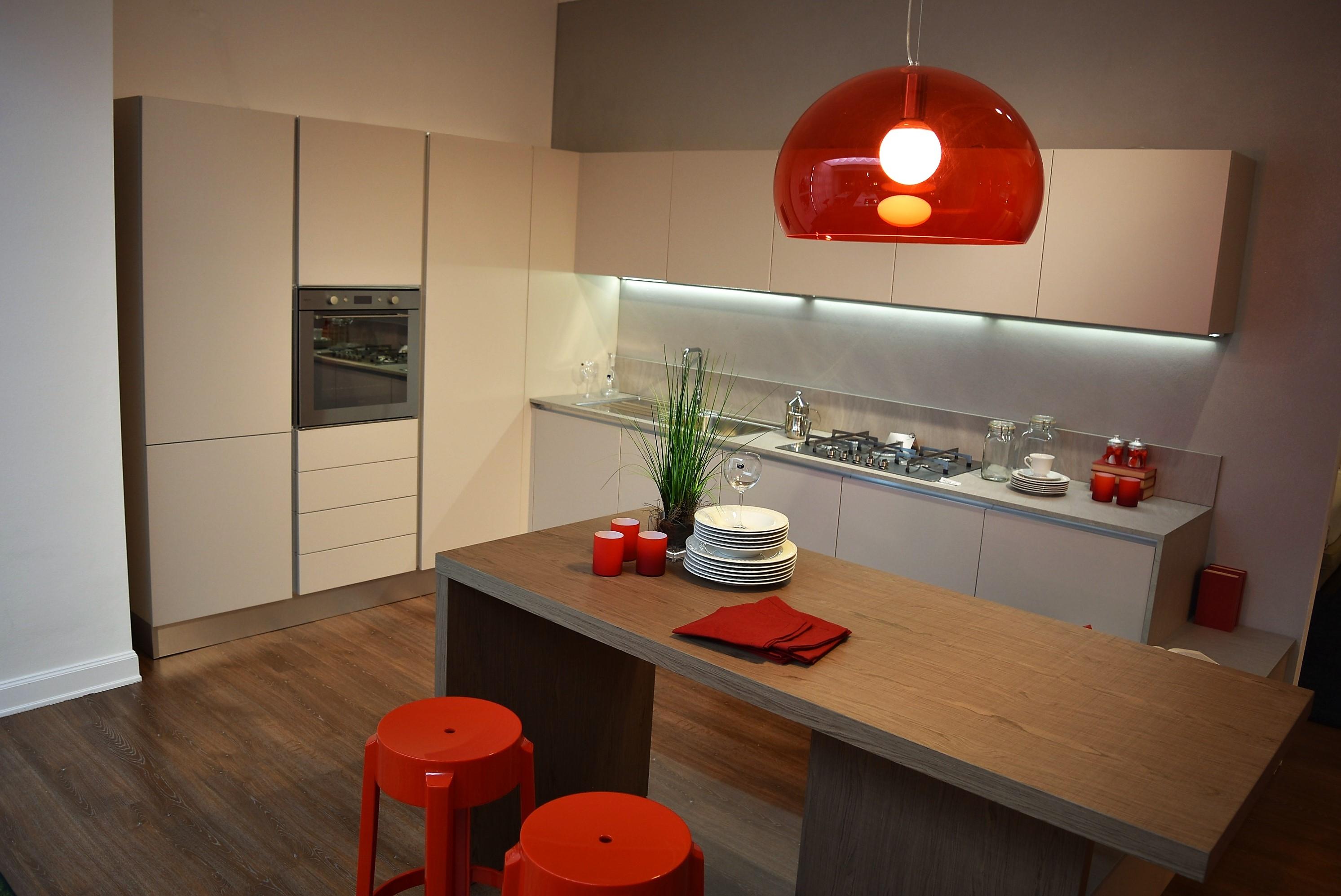 Cucina forma 2000 blues moderno polimerico opaco tortora cucine a prezzi scontati - Cucine angolari usate ...