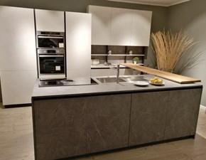 Cucina Forma 2000 design ad isola altri colori in laminato materico Space