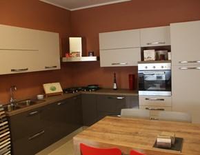 Cucina Forma 2000 moderna ad angolo altri colori in polimerico lucido Nice