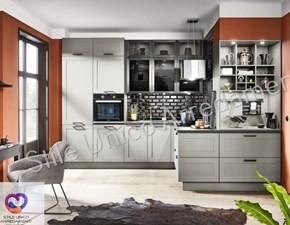 Cucina Franky moderna grigio ad angolo Colombini casa
