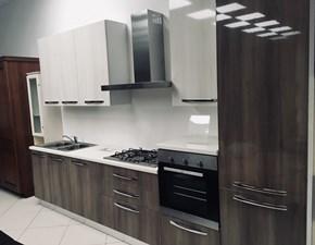 Cucina Gaia moderna rovere chiaro lineare Mobilturi cucine