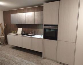 Cucina Gd arredamenti moderna lineare bianca in legno Velvet elite