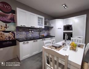 Cucina Gea moderna bianca ad angolo Evo cucine