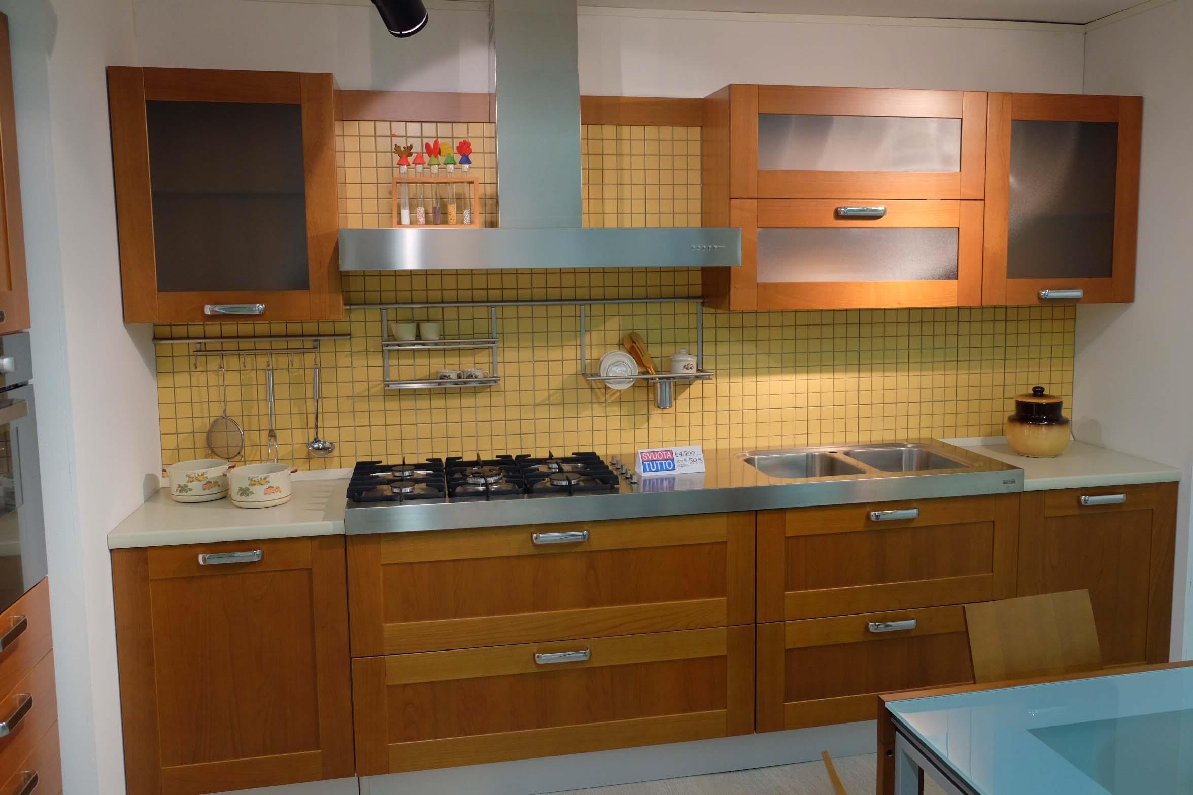 Cucina gentili cucine quadria scontato del 58 cucine - Cucine in ciliegio moderne ...