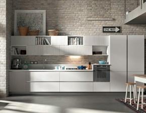 Cucina Ghianda moderna grigio lineare Artigianale