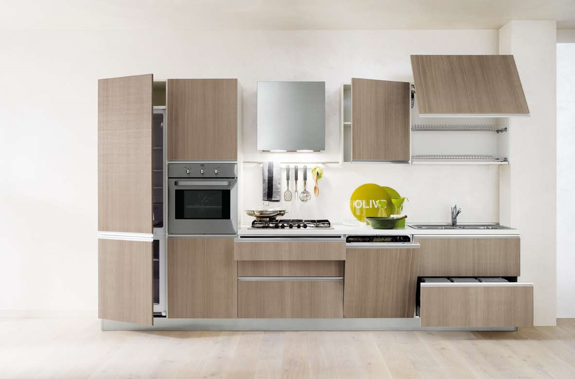 Cucina Gicinque Cucine Karisma Moderna Laminato Materico Cucine A  #B5A20C 1182 780 Top Cucina In Laminato Opinioni