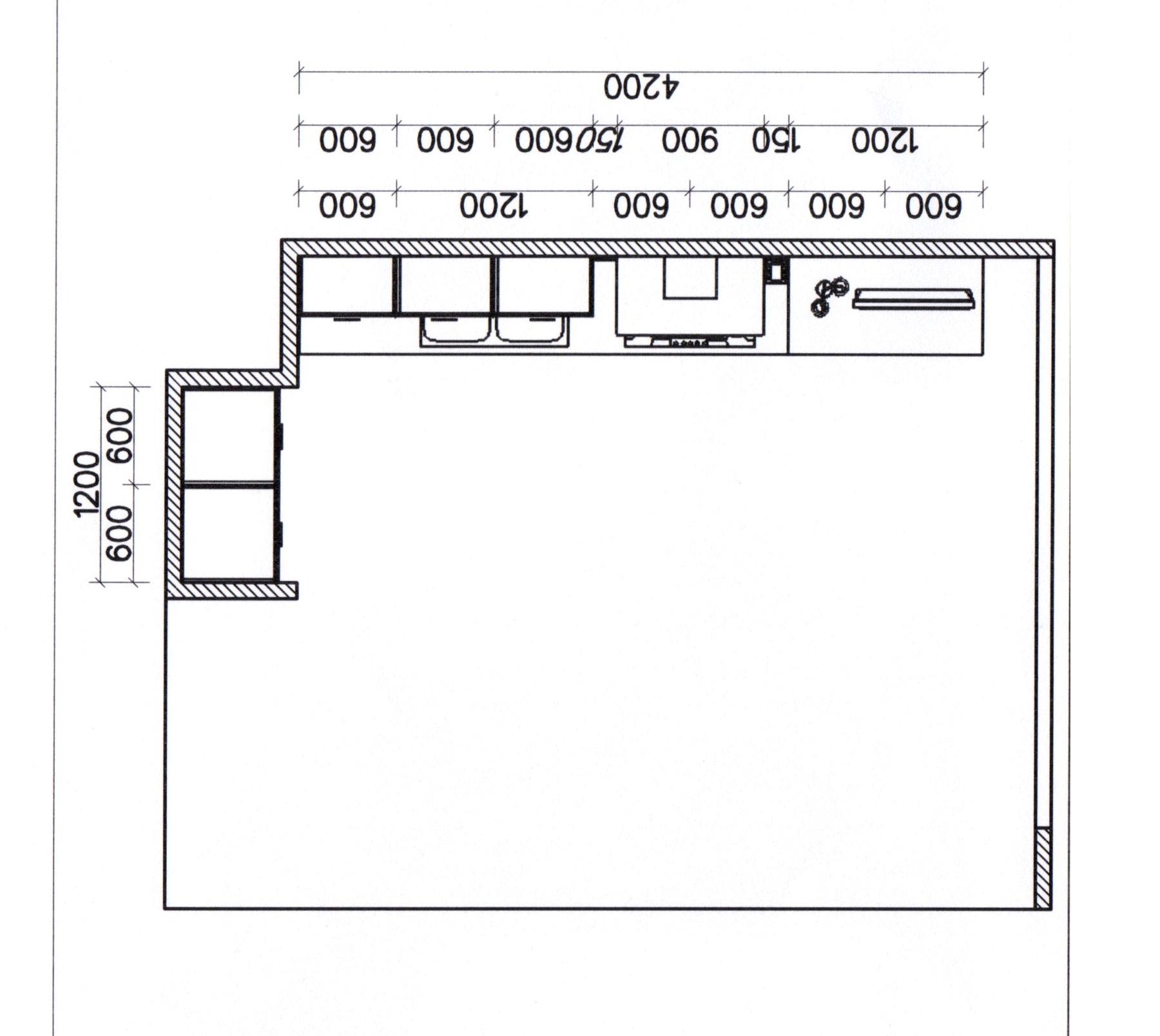 Misure angolo cucina isola cucina ikea dimensioni - Misure cucine ikea ...